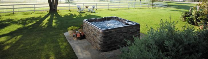 backyard hot tub inspiration in Wichita Falls