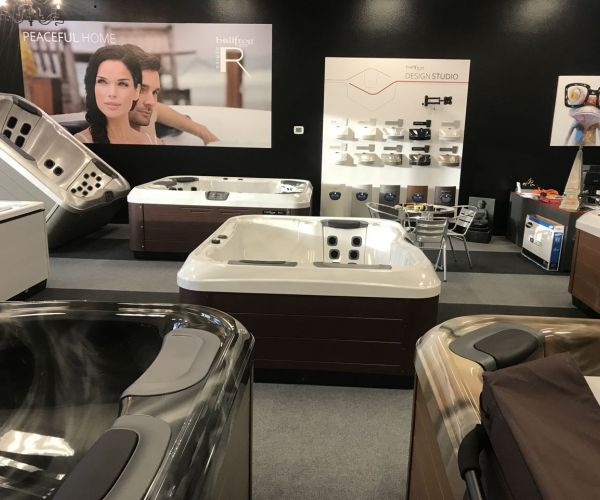 Bullfrog Spas Showroom in Wichita Falls, Texas