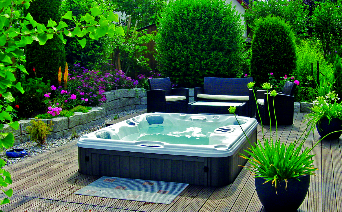 Backyard Hottub steps to create the perfect backyard hot tub installation